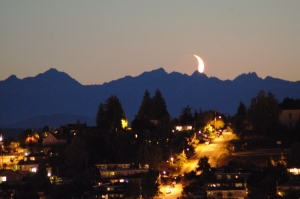 Moon hitting the olympics