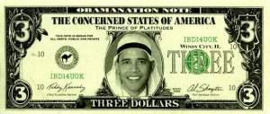 offending $3 bill